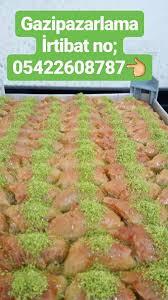 toptan fıstıklı baklava